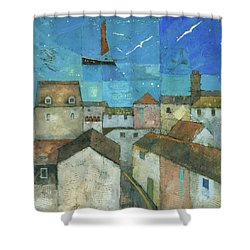 Falmouth Shower Curtain by Steve Mitchell