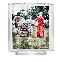Shower Curtain featuring the photograph Family Rollin' by Stwayne Keubrick