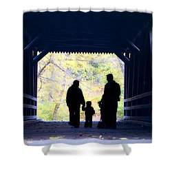 Family Time Shower Curtain by Bill Cannon
