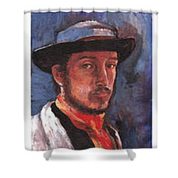 Famous Artists  Shower Curtain by Tom Roderick