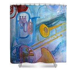 Fanfare Shower Curtain
