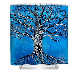 Fantastical Tree Of Life Shower Curtain