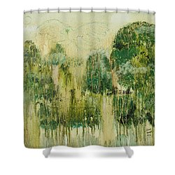 Fantasy Forest Shower Curtain by Diane Pape