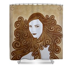 Fantasy I Shower Curtain by Lynet McDonald