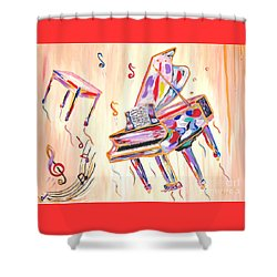 Fantasy Impromptu Shower Curtain