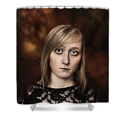 Fantasy Portrait Shower Curtain by Amanda Elwell