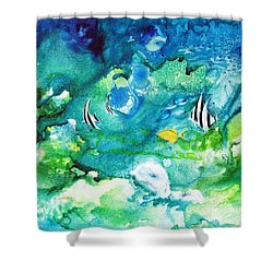 Fantasy Sea Shower Curtain