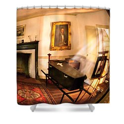 Fantasy - The Funeral  Shower Curtain by Mike Savad
