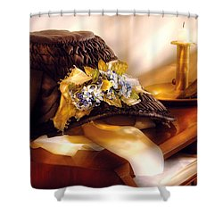 Fantasy - The Widows Bonnet  Shower Curtain by Mike Savad