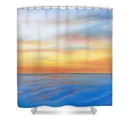Farewell Florida Shower Curtain