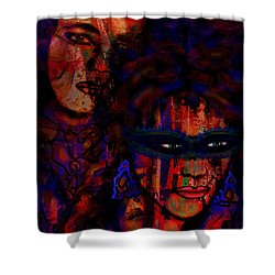 Farewell To Love Shower Curtain by Natalie Holland