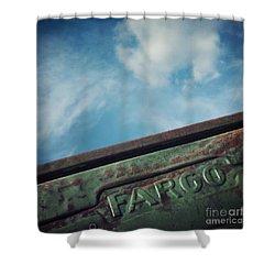 Fargo Shower Curtain by Priska Wettstein