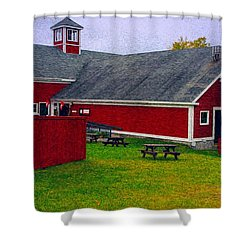 Farm Shower Curtain by Bill Howard