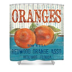 Farm Fresh Fruit 2 Shower Curtain