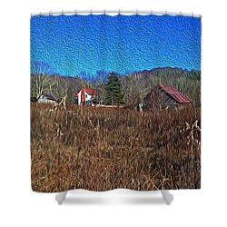 Farm House 2 Shower Curtain