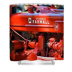 Farm Tractor 11 Shower Curtain