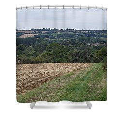 Farm Tractor 2 Shower Curtain by John Williams