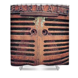 Shower Curtain featuring the photograph Farmall by Rebecca Davis