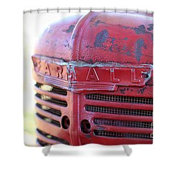 Farmall Shower Curtain