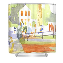 Farmers Market II  Shower Curtain
