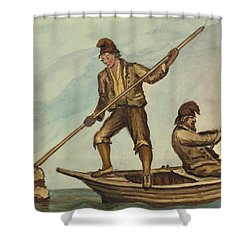 Faroese Islanders Circa 1862 Shower Curtain by Aged Pixel