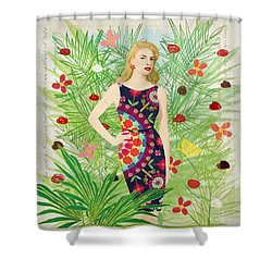 Fashion And Art - Limited Edition 1 Of 10 Shower Curtain