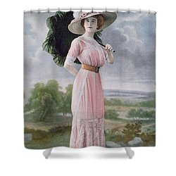 Fashionable Beach Wear Shower Curtain by Felix Studio