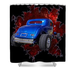 Fast 33 Shower Curtain