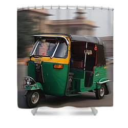 Fast As Wind Shower Curtain