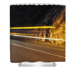 Fast Car Shower Curtain