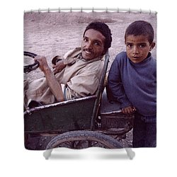 Father And Son Shower Curtain