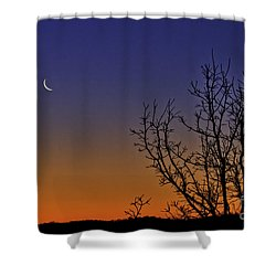 Favorite Moon Shower Curtain