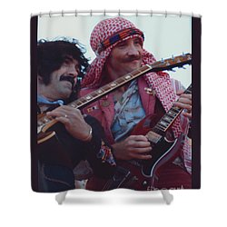 Favorite Of Manny Charlton And Zal Cleminson - Nazareth At Day On The Green 2 - 4th Of July 1979  Shower Curtain