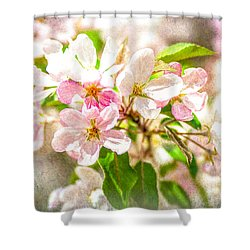 Feast Of Life 16 - Love Is In The Air Shower Curtain by Alexander Senin