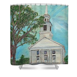 Federated Church Shower Curtain