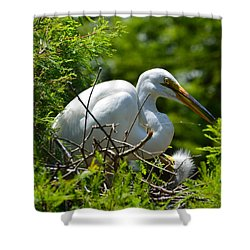 Feed Me Mom Shower Curtain