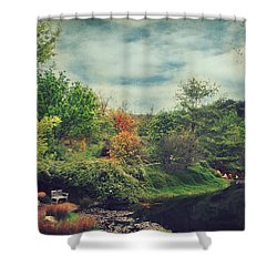 Feed Your Soul Shower Curtain by Laurie Search