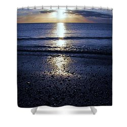 Feeling The Sunset Shower Curtain