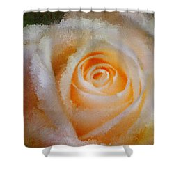 Feelings Of Flowers - Image Art Shower Curtain by Jordan Blackstone
