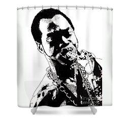 Fela Kuti Shower Curtain