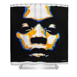 Fela. The First Black President. Shower Curtain