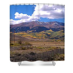 Fenced Nature Shower Curtain