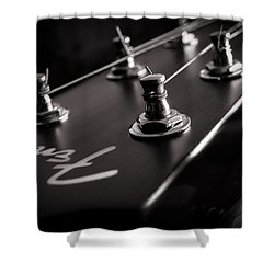 Fender Acoustic I Shower Curtain