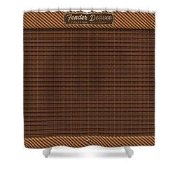 Fender Deluxe Shower Curtain