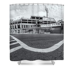 Fenway Park Vi Shower Curtain by Clarence Holmes
