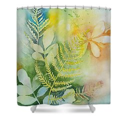 Ferns 'n' Leaves Shower Curtain
