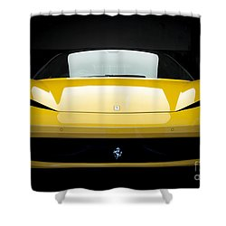Ferrari 458 Shower Curtain