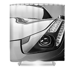 Ferrari Headlight Shower Curtain