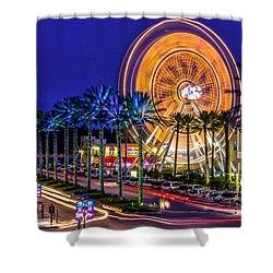 Ferris Wheel At The Wharf Shower Curtain