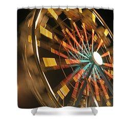 Ferris Wheel Shower Curtain by Brandon Tabiolo